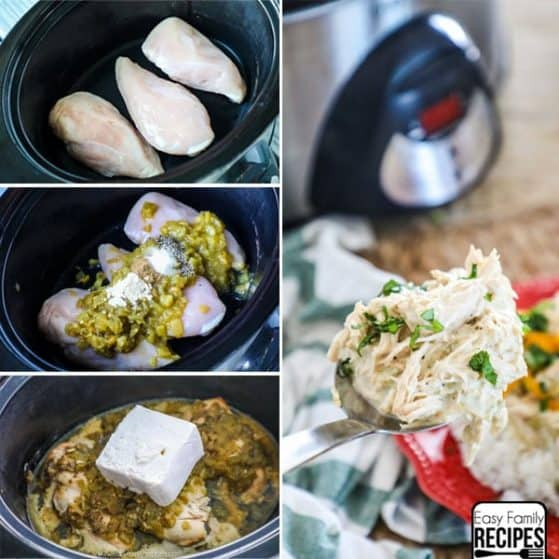 Crock Pot Green Chile Chicken Recipe Instructions