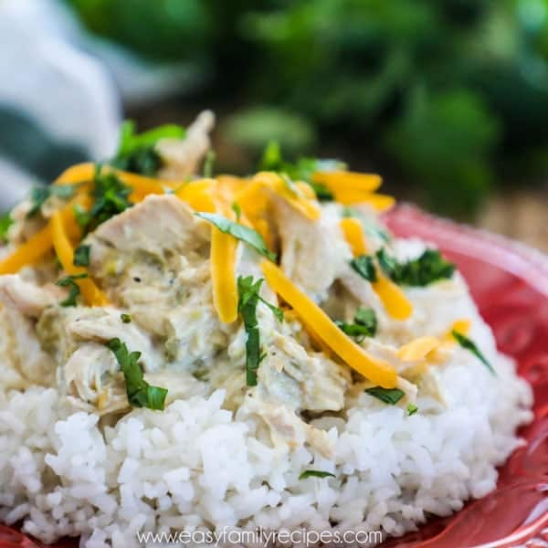 Crockpot Green Chile Chicken Recipe