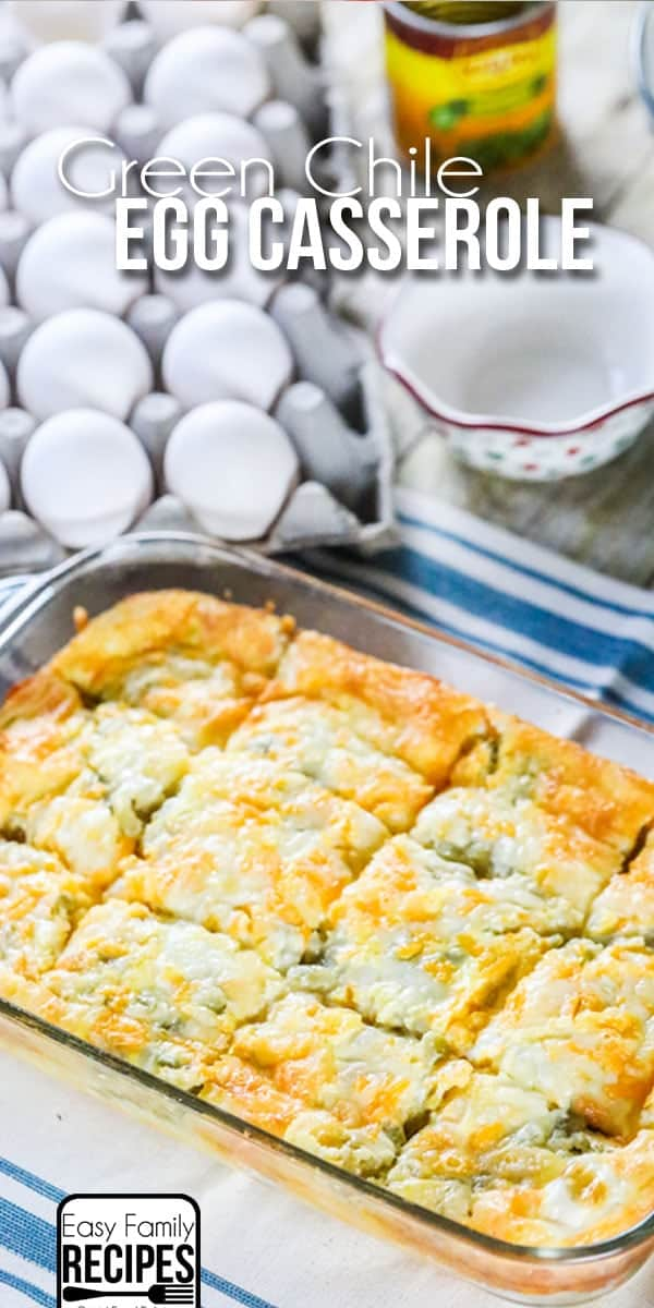 Green Chile Breakfast Casserole Recipe