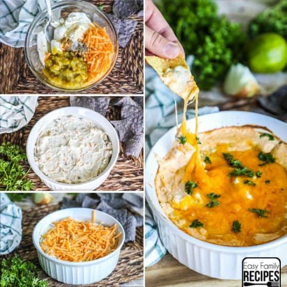 Green Chile Dip - Easy and yummy appetizer