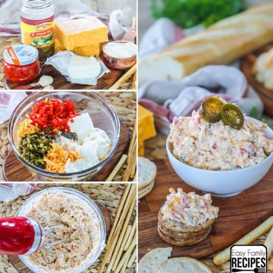 Homemade Pimento Cheese Recipe