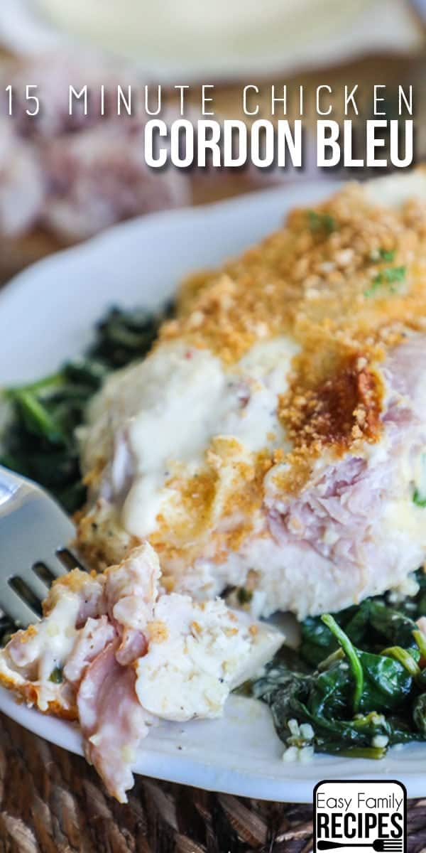 Low Carb Chicken Cordon Bleu Recipe