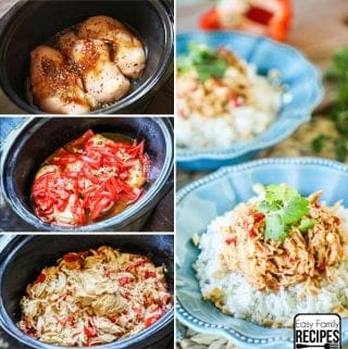 Crock Pot Thai Chicken Recipe