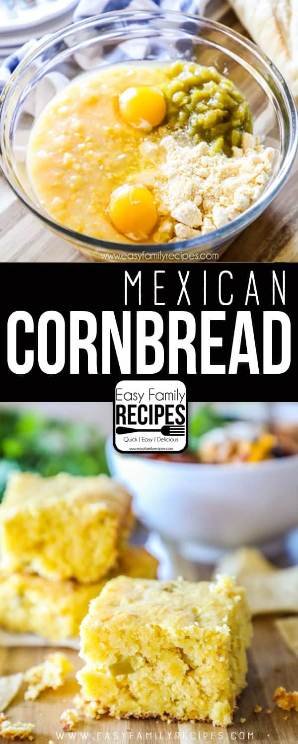 Easy Mexican Cornbread