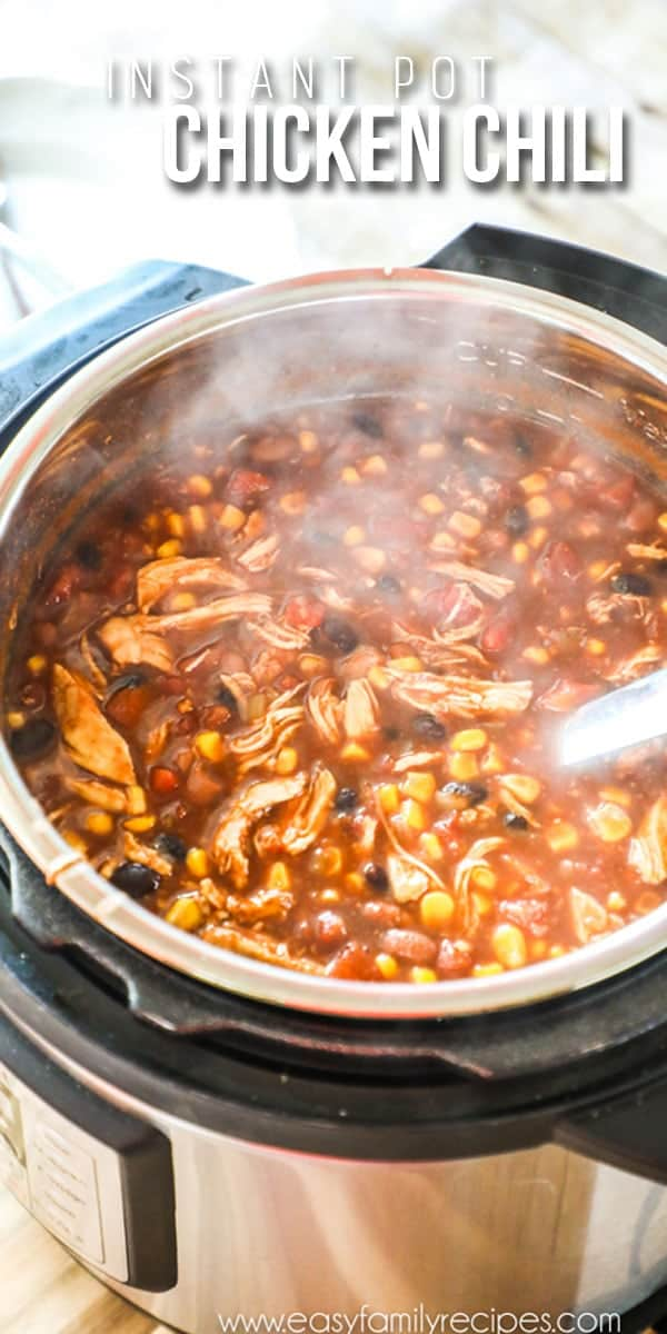 Chicken Chili in Instant Pot