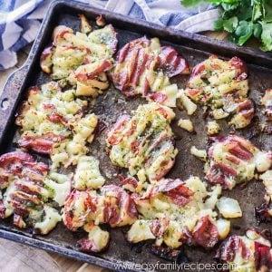 BEST Smashed Potatoes Recipe