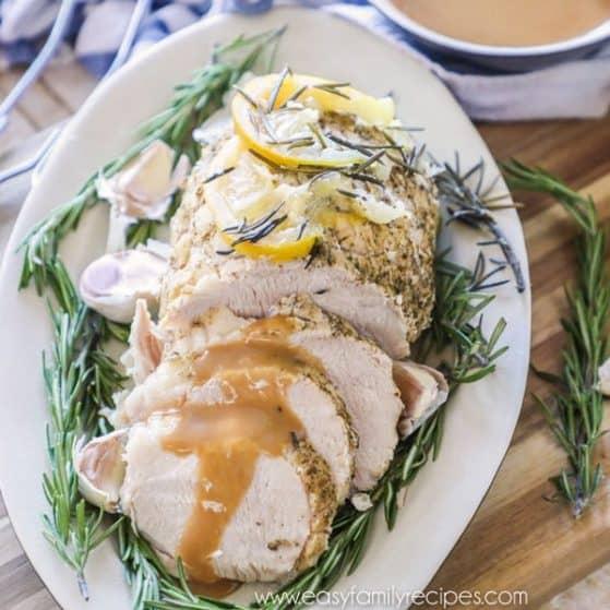 Pressure Cooker Turkey Breast with Gravy