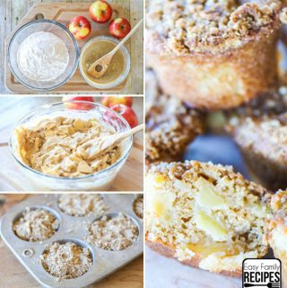 Perfect Apple Muffin Recipe - Step by Step instructions