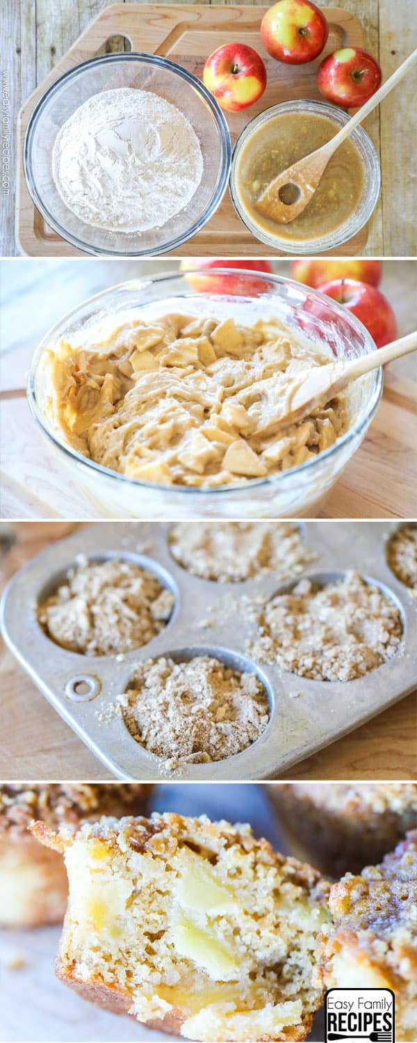 How to make apple muffins