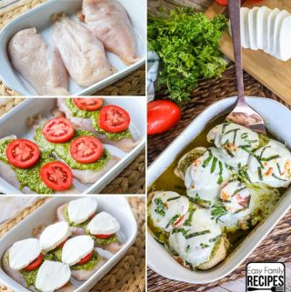 Caprese Chicken recipe instructions