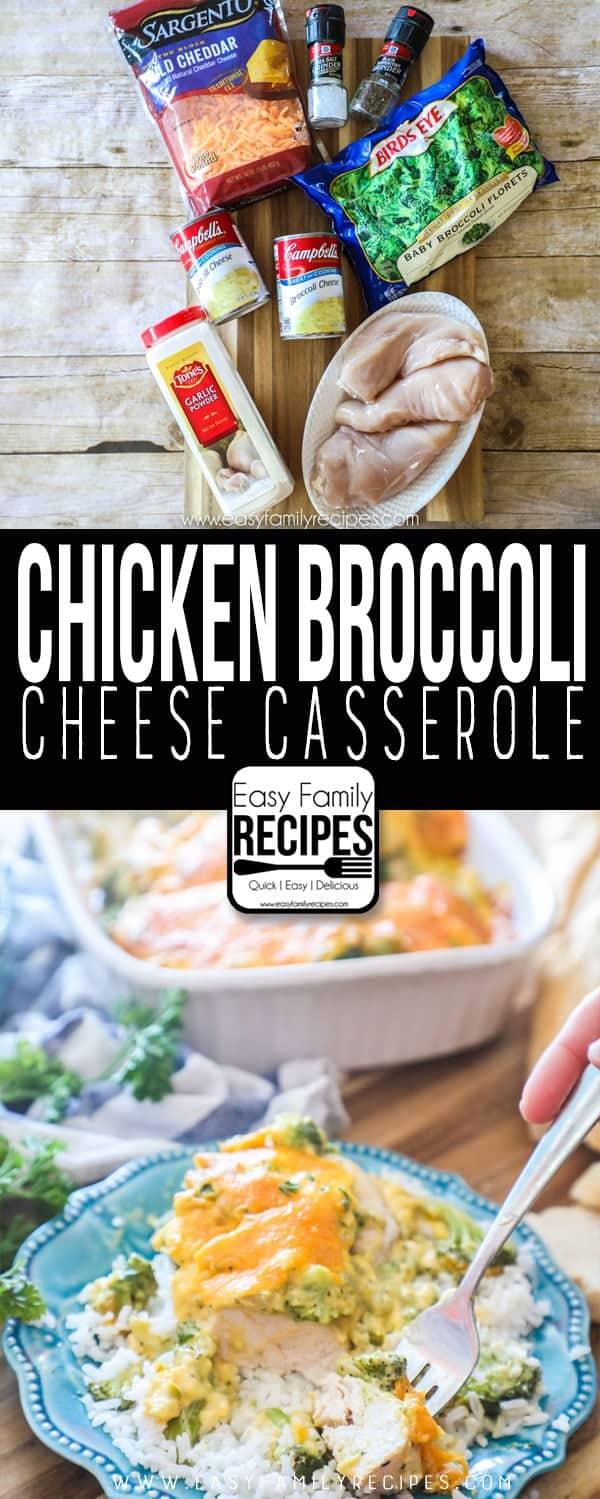 Chicken Broccoli Cheese Casserole