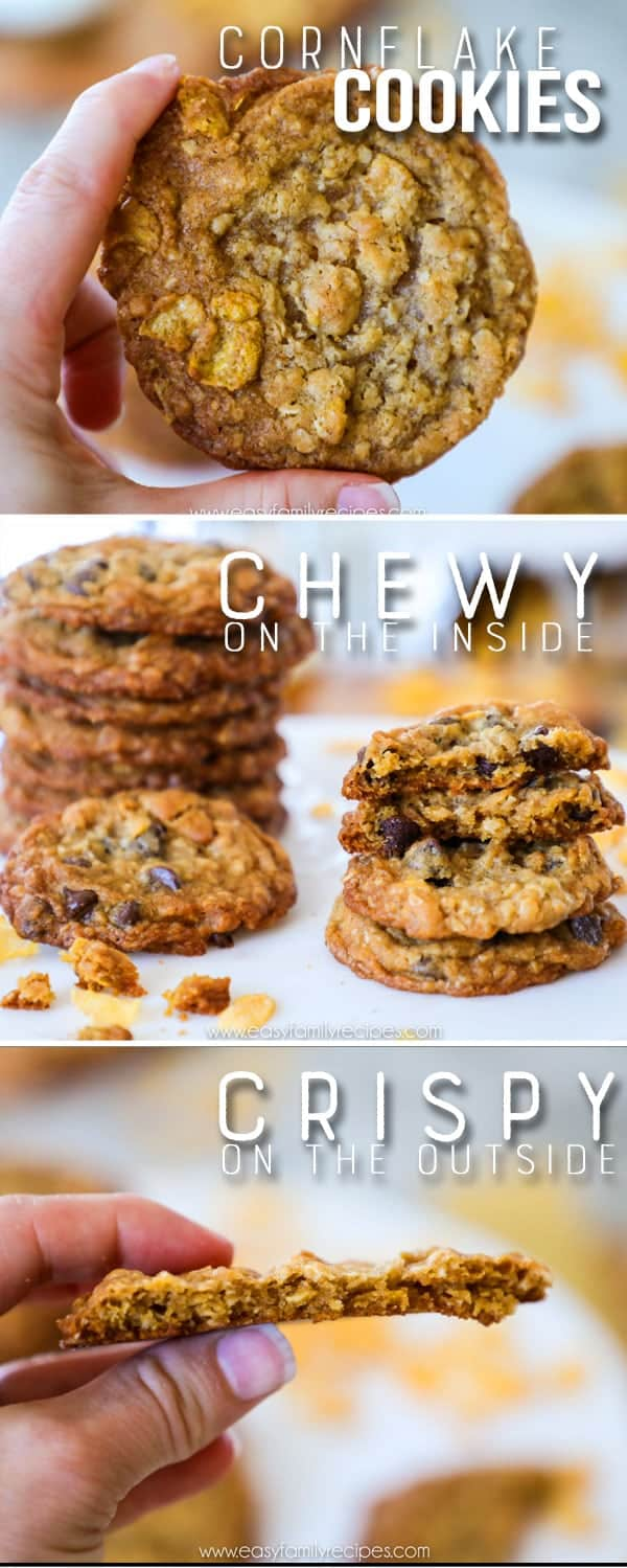 Chewy Cornflake Cookies