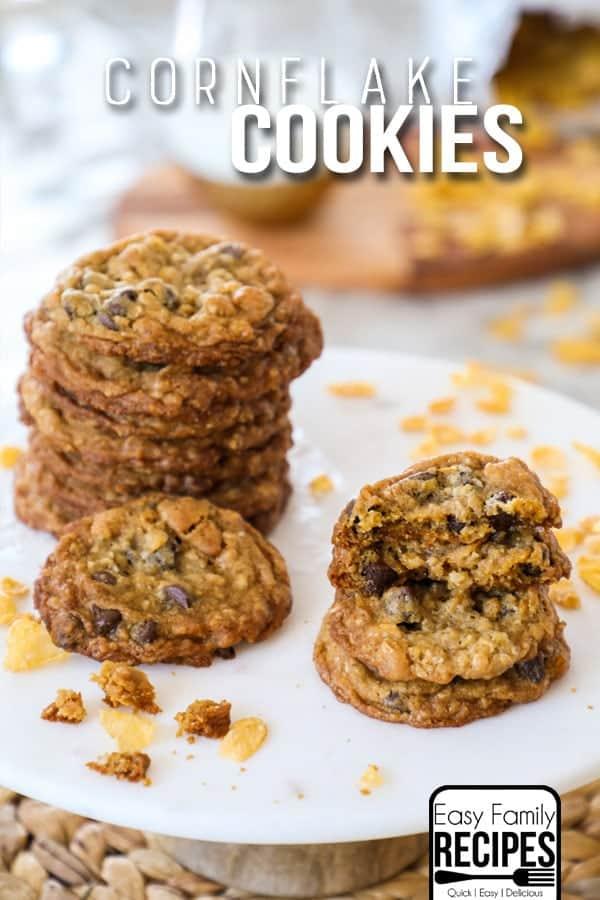 Cornflake Cookies Recipe