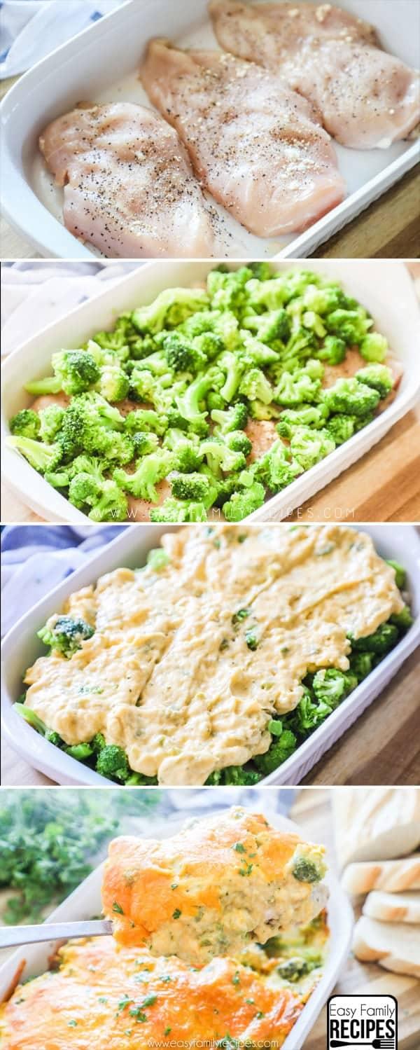 How to make Chicken Broccoli Cheese Casserole