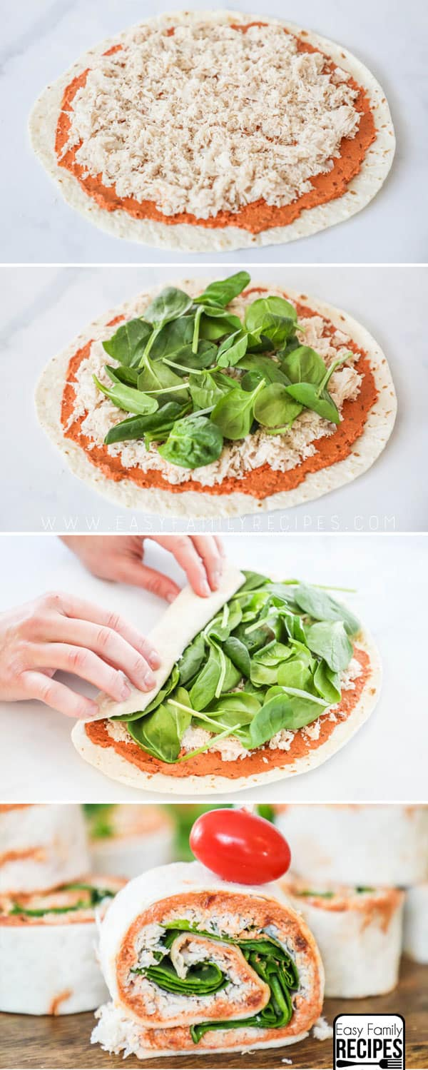 How to make a sun dried tomato wrap