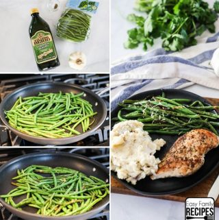 Sauteed Green Beans steps