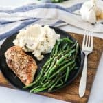 Sauteed Green Beans with chicken