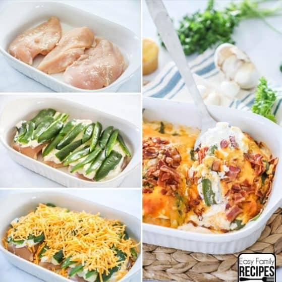 Jalapeno Popper Chicken Casserole Instructions