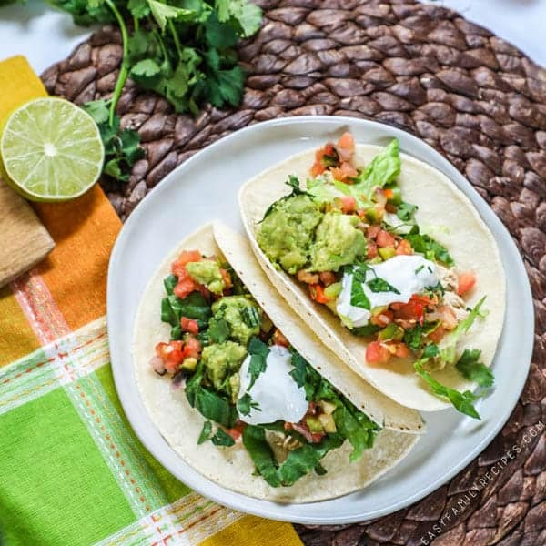 Slow Cooker Chicken Taco recipe