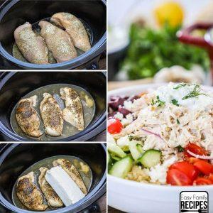Creamy Greek Chicken