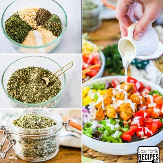 The BEST Ranch Seasoning Recipe
