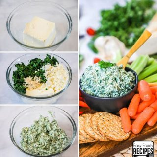 Cold Spinach Dip Recipe