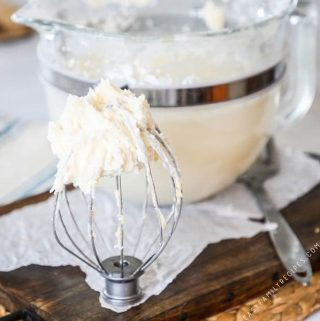 The BEST EVER Buttercream Frosting Recipe