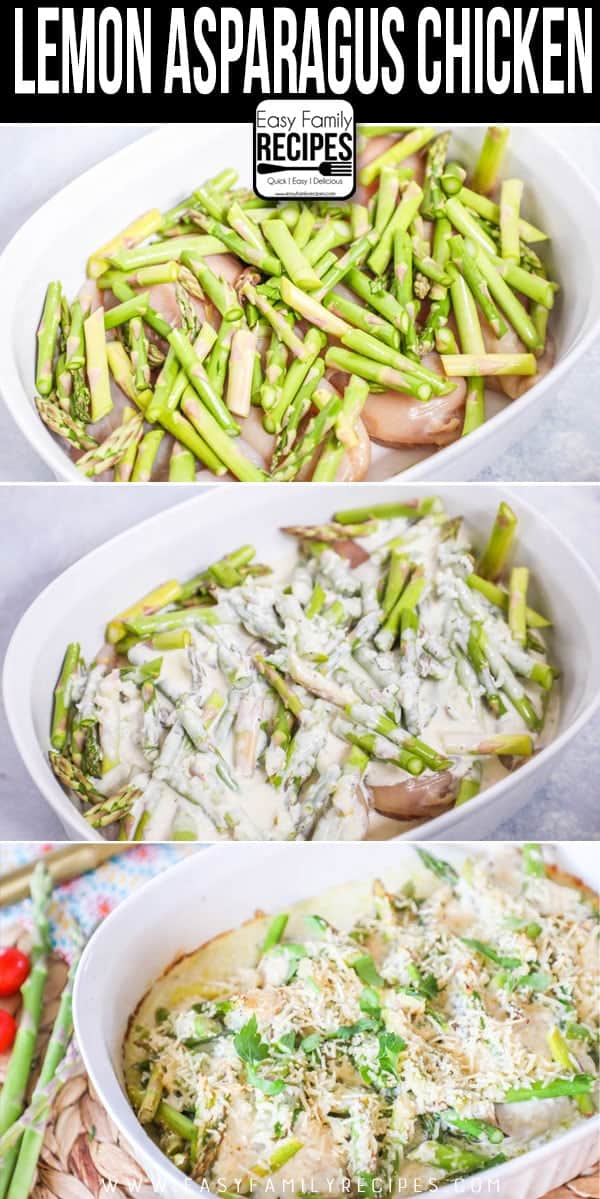 Fresh & Delicious! How to make Lemon Asparagus Chicken
