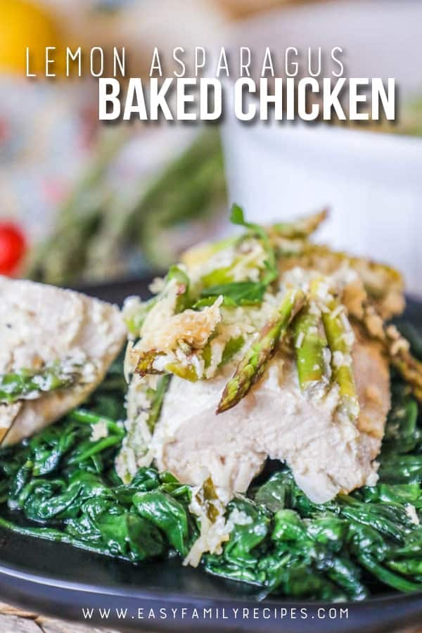 DELICIOUS! Lemon Chicken with Asparagus - Easy dinner recipe