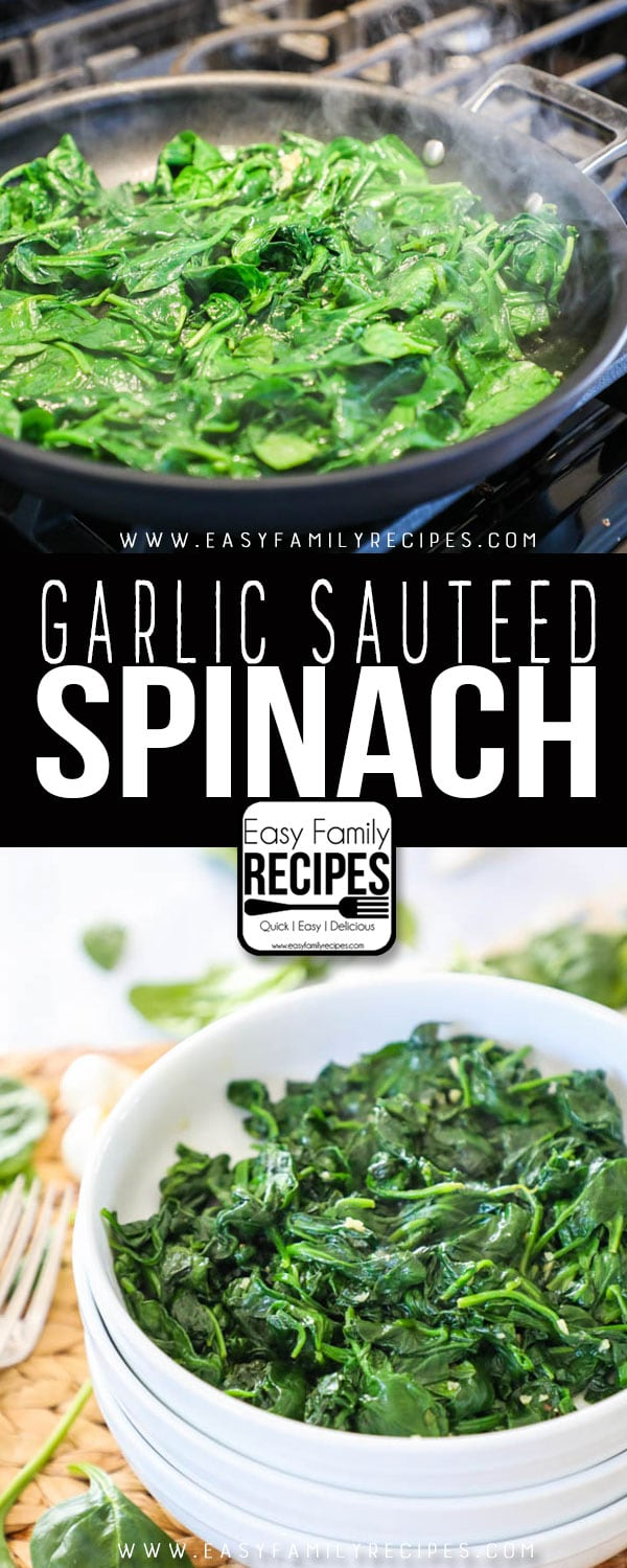 Favorite Sautéed Spinach Recipe