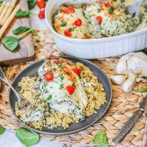 Spinach and Feta Chicken Recipe