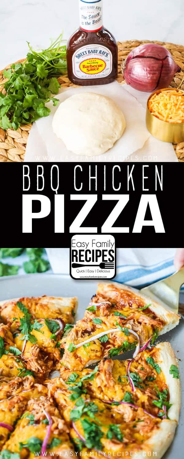 The BEST Barbecue chicken pizza!