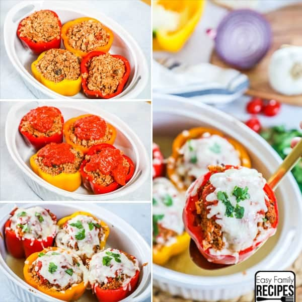 Stuffed Peppers Recipe - Gluten Free