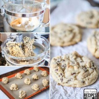 Best Chewy Chocolate Chip Cookies in mixer