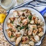Recipe for easy greek chicken