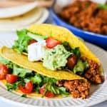 Recipe for Ground Turkey Tacos