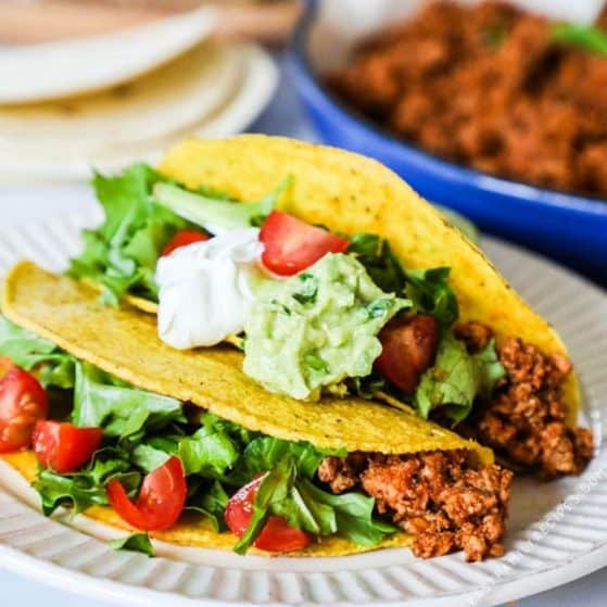 Recipe for Ground Turkey Tacos