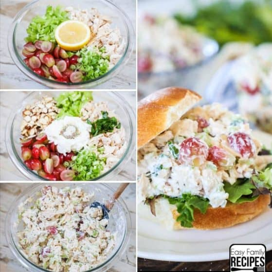 You do not want to pass us this delicious greek chicken salad recipe.