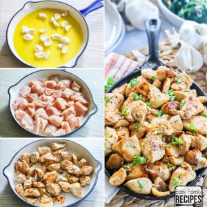 Garlic Chicken Bites