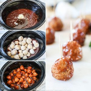 Honey BBQ Meatballs