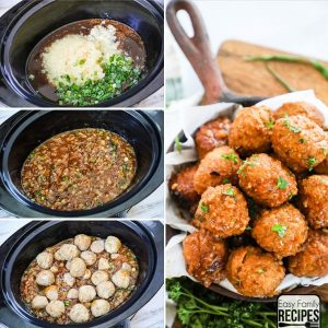 Pineapple Teriyaki Meatballs