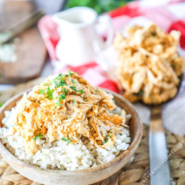 Crock Pot Buffalo Chicken · Easy Family Recipes