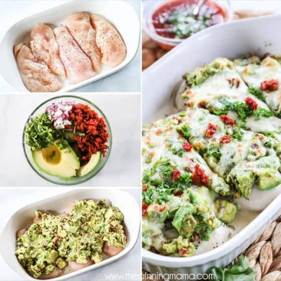 Steps to Make Avocado Smothered Chicken