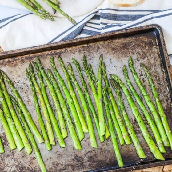 Recipe for Baked Asparagus