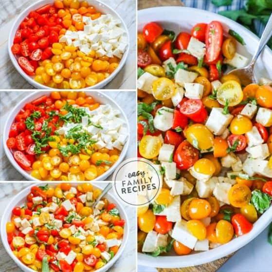Quick and Easy Tomato Salad.