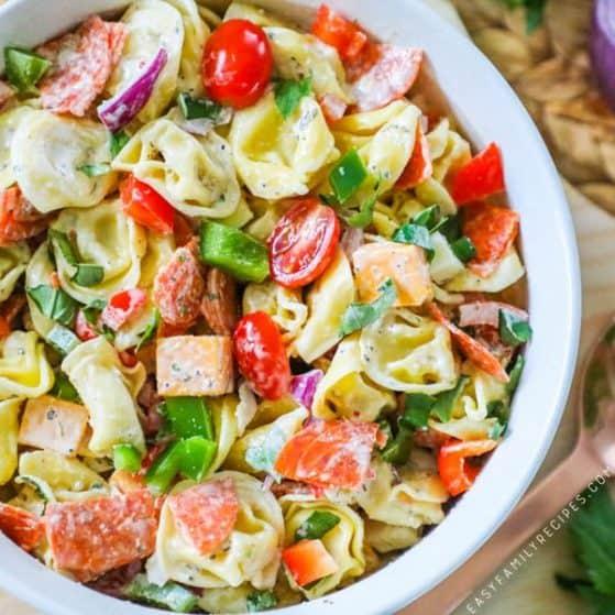 Recipe for Tortellini Pasta Salad.