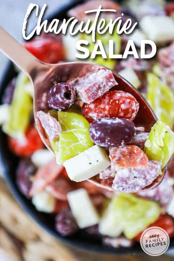 Antipasto salad is full of delicious Italian flavors and a perfect light meal.