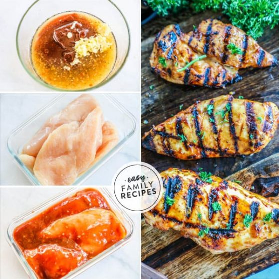 Delicious and easy to make BBQ chicken marinade.