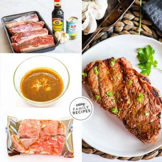 Delicious and Full of flavor Hawaiian Steak Marinade.