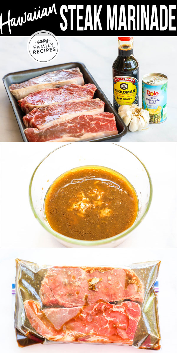 Tips and Tricks for Hawaiian Steak Marinade.